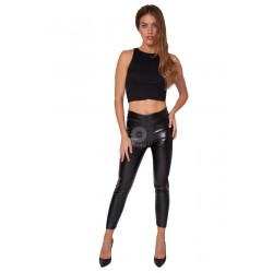 Legging simil leather Palermo de Anaissa.